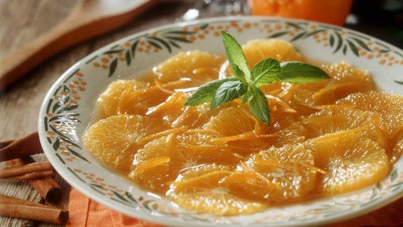 Rezept: Marinierte Orangenscheiben