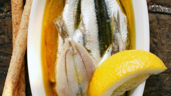 Rezept: Marinierte Sardinen mit Zitrone