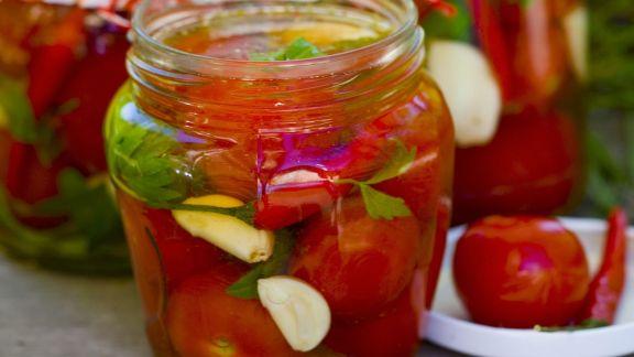 Rezept: Marinierte Tomaten