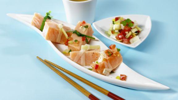 Rezept: Marinierter roher Fisch (Ceviche)