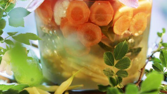 Rezept: Mariniertes Gemüse