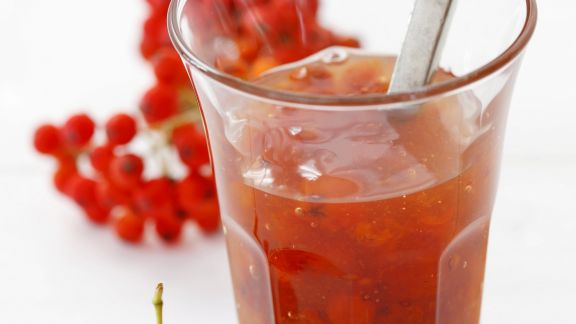 Rezept: Marmelade aus Vogelbeeren