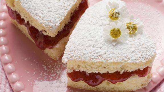 Rezept: Marmeladen-Herzchen