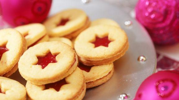 Rezept: Marmeladen-Plätzchen