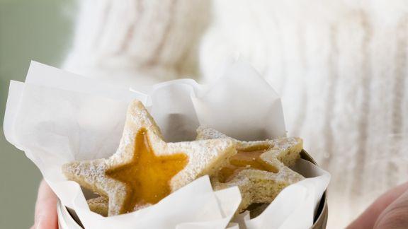 Rezept: Marmeladen-Sterne