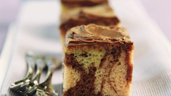 Rezept: Marmorkuchen mit Schokoglasur
