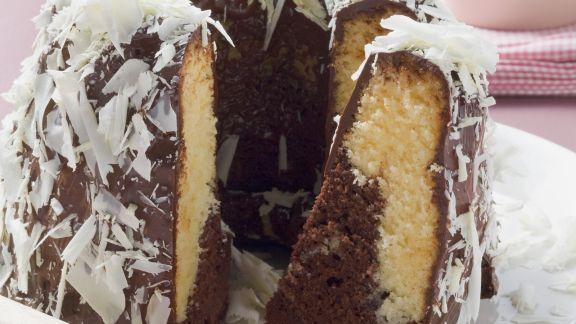 Rezept: Marmorkuchen mit Schokoladenspänen