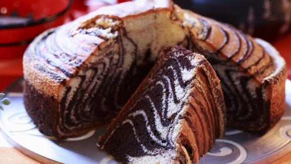 Rezept: Marmorkuchen mit Zebra-Muster