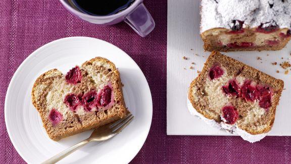 Rezept: Marmorkuchen mit Sauerkirschen
