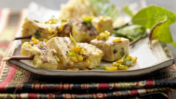 Rezept: Marokkanische Fischspieße