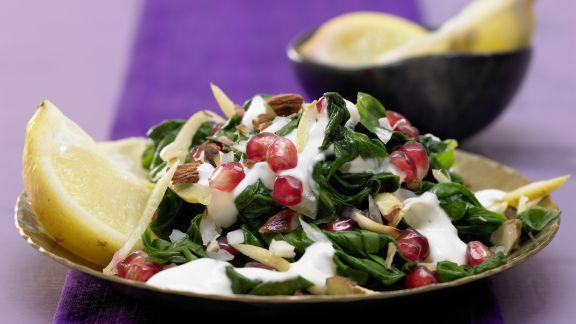 Rezept: Marokkanischer Spinatsalat