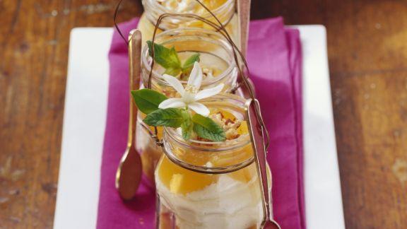 Rezept: Mascarpone-Aprikosen-Dessert