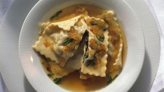 Rezept: Maultaschen-Suppe