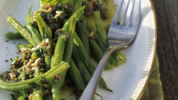 Rezept: Mediterraner Grüner Bohnen Salat