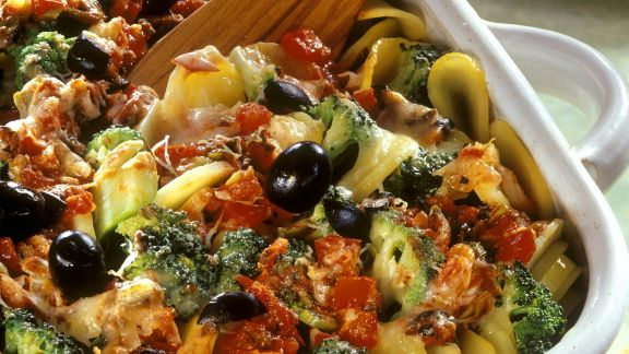 Rezept: Mediterraner Kartoffelauflauf