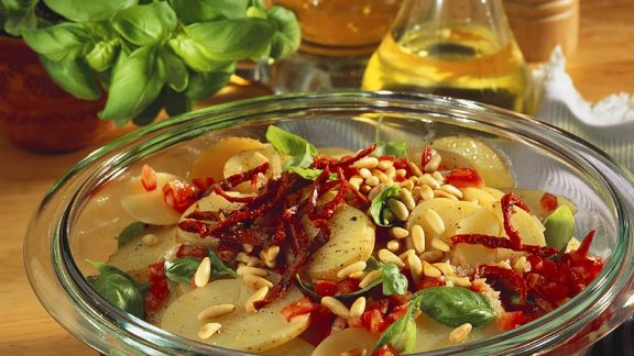 Rezept: Mediterraner Kartoffelsalat