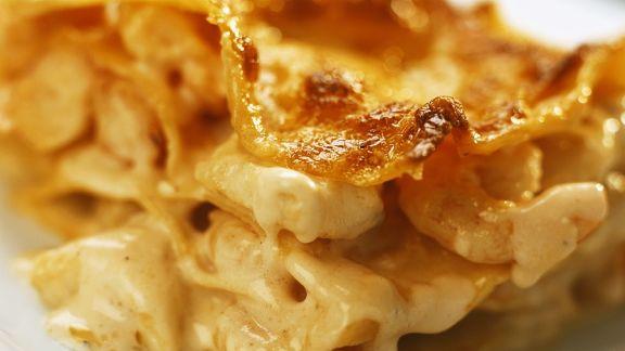 Rezept: Meeresfrüchte-Lasagne