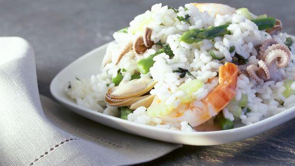 Rezept: Meeresfrüchte-Risotto