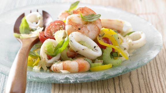 Rezept: Meeresfrüchtesalat