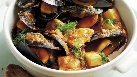 Rezept: Meeresfrüchtesuppe