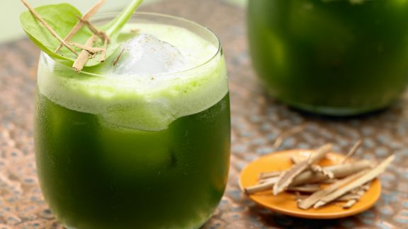 Rezept: Melonen-Spinat-Saft