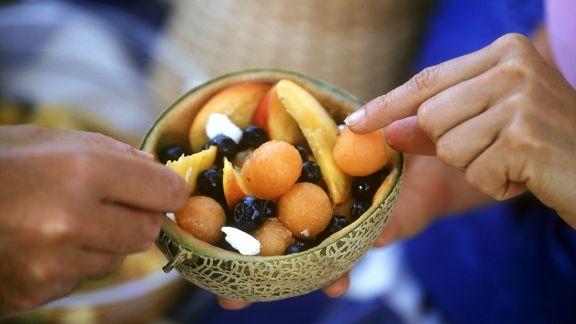 Rezept: Melonensalat