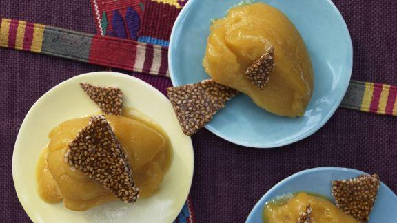 Rezept: Mexikanisches Mango-Sorbet