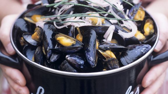 Rezept: Miesmuscheln in Marinade