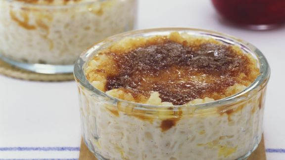 Rezept: Milchreis mit Karamellkruste
