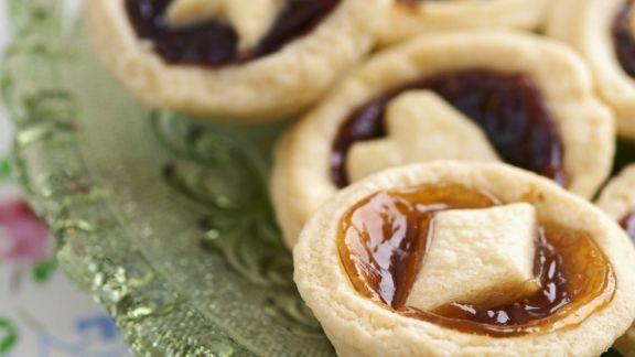 Rezept: Mini-Küchlein mit Marmelade