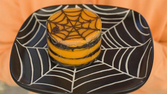 Rezept: Mini-Kürbiskuchen für Halloween