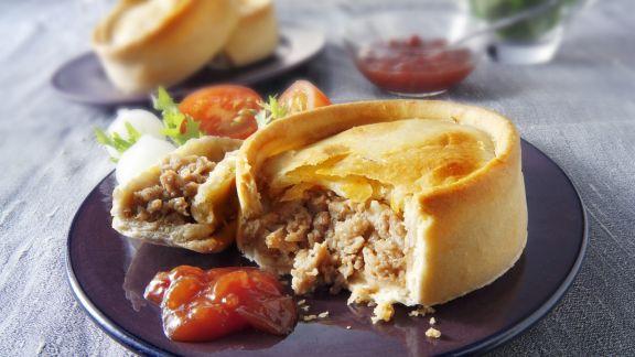 Rezept: Mini-Pie mit Lammhackfleisch