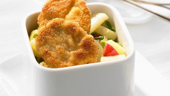 Rezept: Mini-Wiener Schnitzel mit Kartoffelsalat