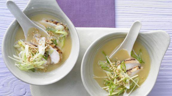 Rezept: Miso-Suppe