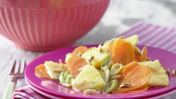 Rezept: Möhren-Ananas-Salat