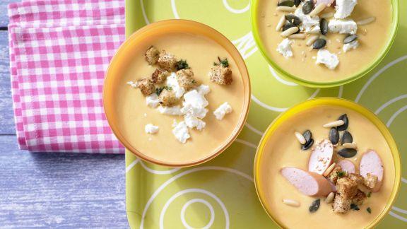 Rezept: Möhren-Orangen-Suppe