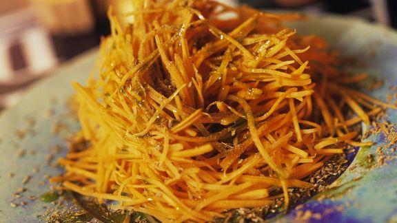 Rezept: Möhren-Orangensalat