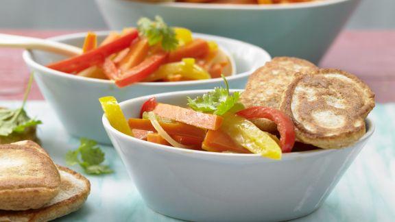 Rezept: Möhren-Paprika-Curry