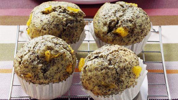 Rezept: Mohn-Muffins mit Orange