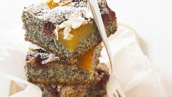 Rezept: Mohn-Obst-Kuchen