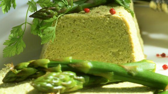 Rezept: Mousse aus grünen Spargel