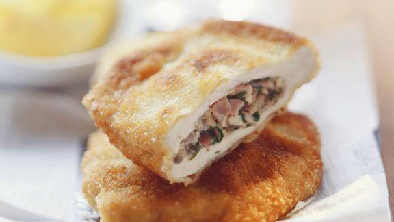 Rezept: Münchner Schnitzel mit Füllung