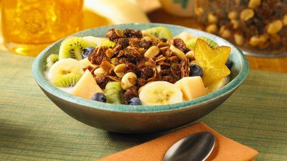 Rezept: Müsli mit Früchten