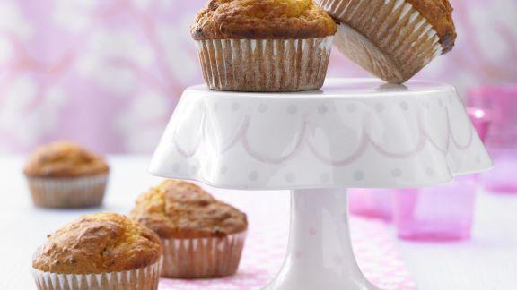 Rezept: Muffins mit Kürbis und Nüssen