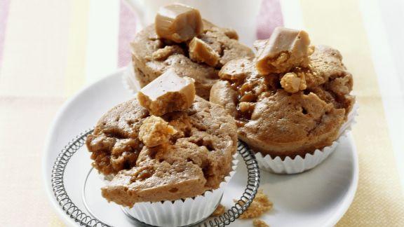 Rezept: Muffins mit Karamell