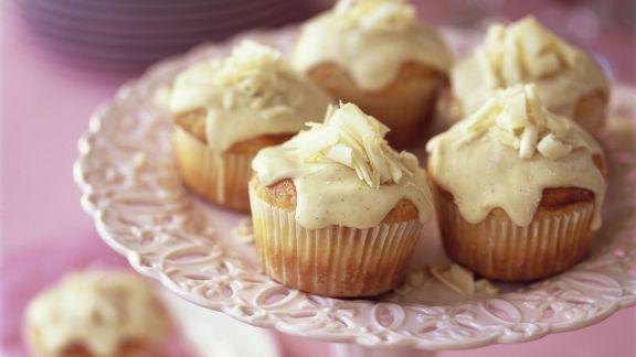 Rezept: Muffins mit weißer Schokolade
