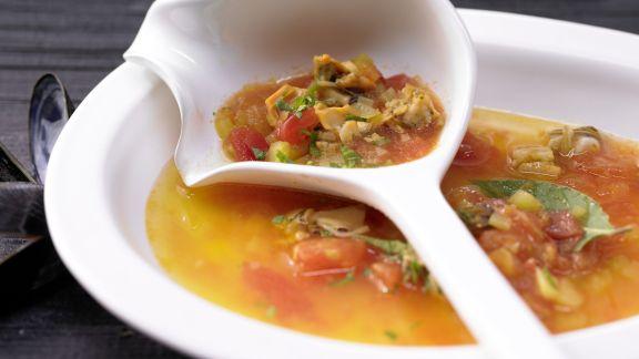 Rezept: Muschelsuppe