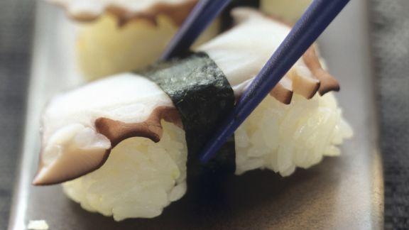 Rezept: Nigiri-Sushi mit Oktopus