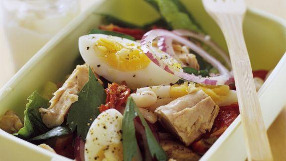 Rezept: Nizza-Salat zum Mitnehmen