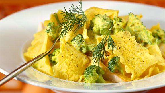 Rezept: Nudeln mit Brokkoli